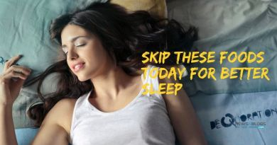 Skip these foods today for better sleep