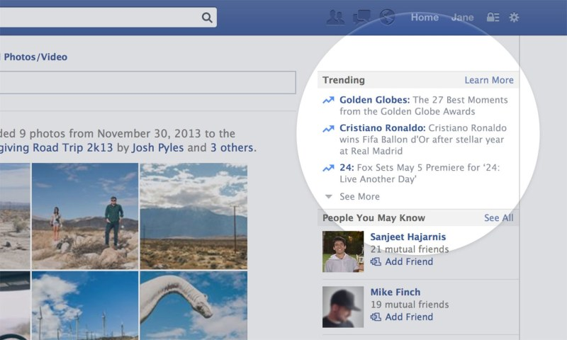 Stay tuned for the most up-to-date news from Facebook trends