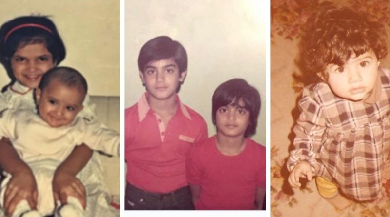 The childhood photos of today's most famous actors