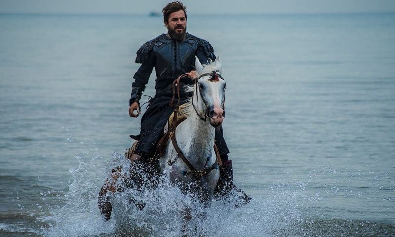Who are the main characters of the Dirilish Ertugrul or Ertugrul Ghazi