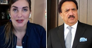 Cynthia Could not provide evidence against rehman malik