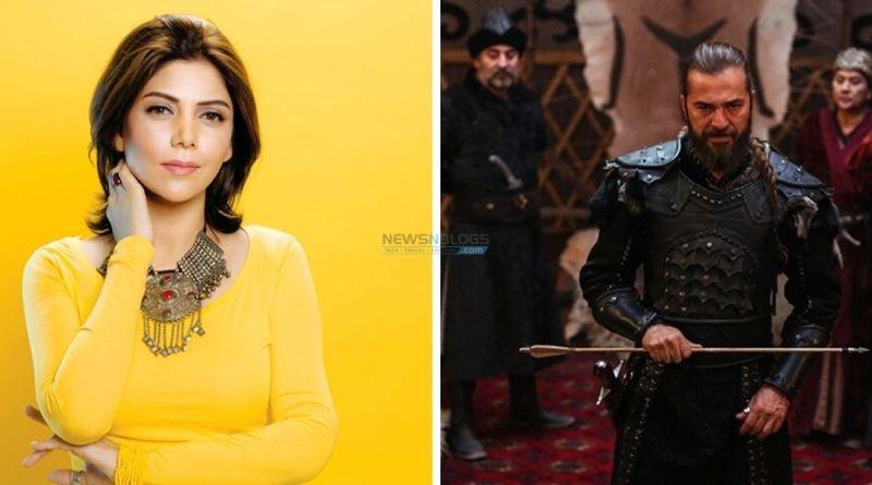 Hadiqa Kiani pays tribute to Ertugrul Ghazi