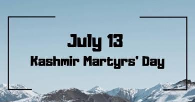 13 July Kashmir Martyrs day
