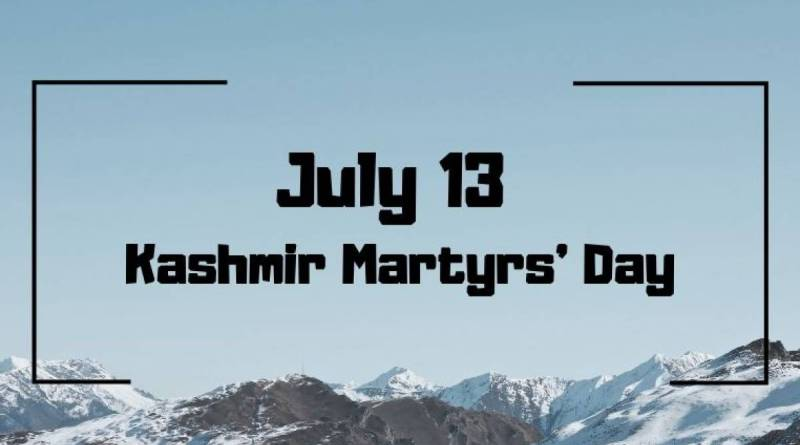 13 July Kashmir Martyrs day