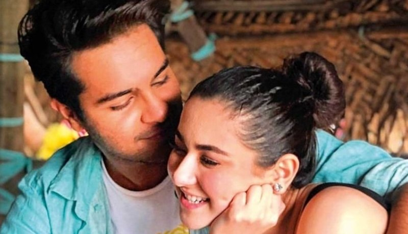 Hania Aamir and Asim Azhar relationship pictures