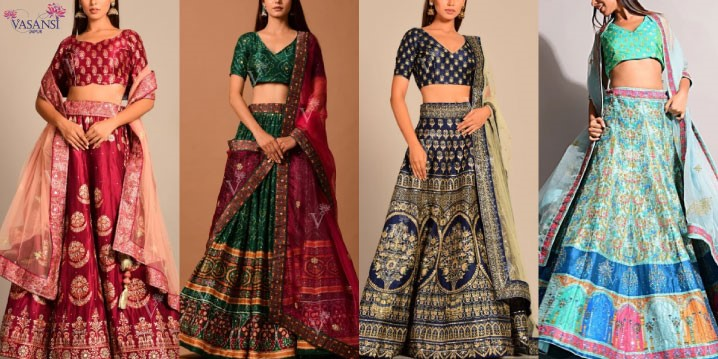 Colourful Bridal Wedding Lehenga for Unbelievable Pictures