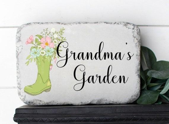 Garden stone