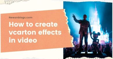 How to create vcarton effects in video
