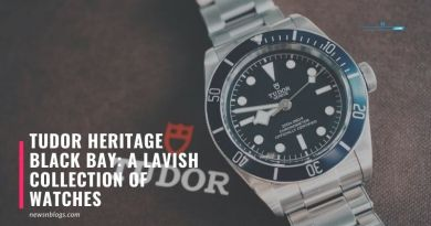 Tudor Heritage Black Bay: A Lavish Collection Of Watches