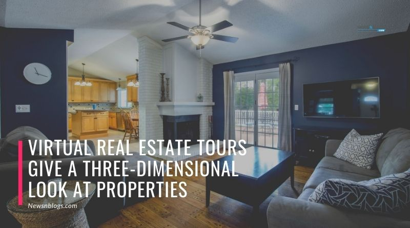 Virtual Real Estate Tours Give a Three-Dimensional Look at Properties