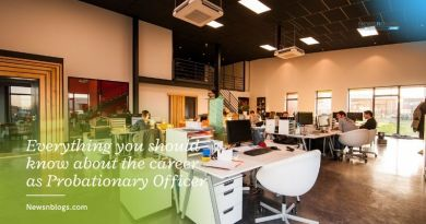 Everything you should know about the career as Probationary Officer