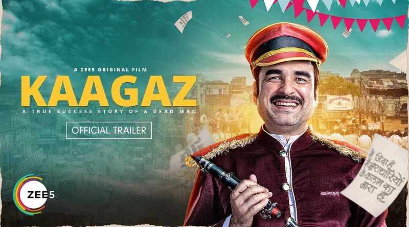Kaagaz Upcoming Bollywood movie of Pankaj Tripathi