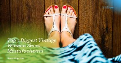 Top 5 Biggest Vintage Women Shoes Manufacturers