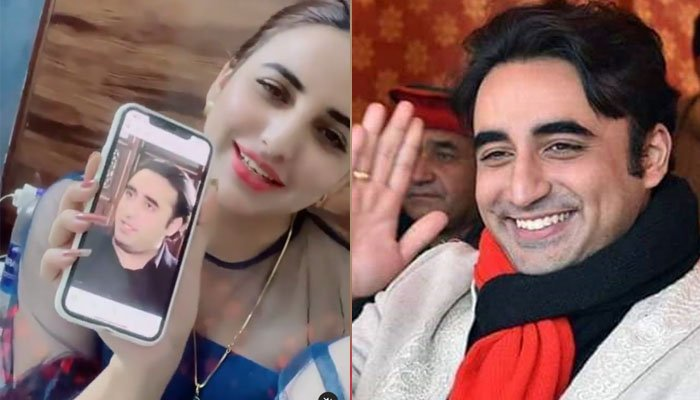 Video of Hareem Shah expressing love to Bilawal Bhutto goes viral