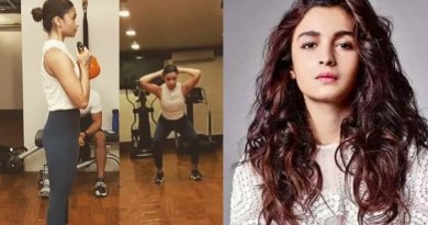 Alia Bhatt's exercise video goes viral