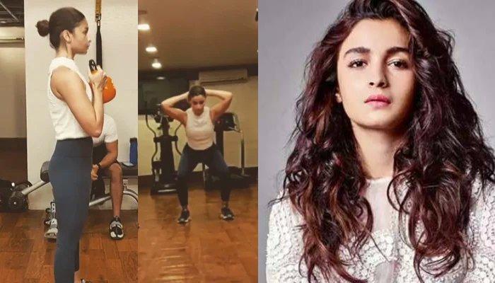 Alia Bhatt's exercise video goes viral