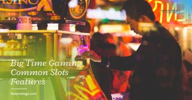 Big Time Gaming Common Slots Features
