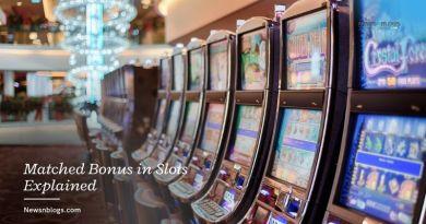 Matched Bonus in Slots Explained