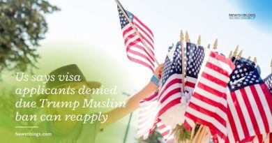 Us says visa applicants denied due Trump Muslim ban can reapply