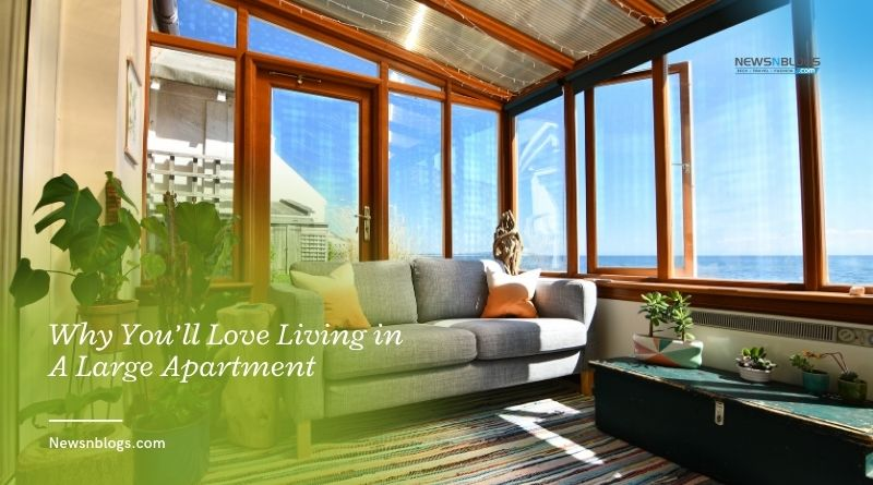 Why You'll Love Living in A Large Apartment