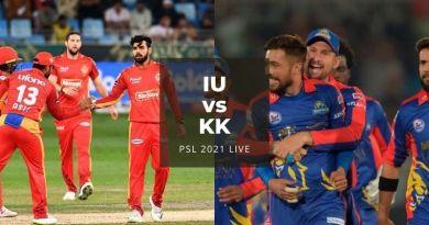 Watch PSL 2021 Live Stream Islamabad United vs Karachi Kings, match no 22