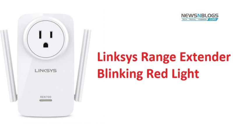 Why Am I Facing Red Light Issue on My Linksys Extender?