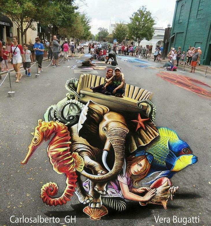 Wow 3D Art by Carlos Alberto GH