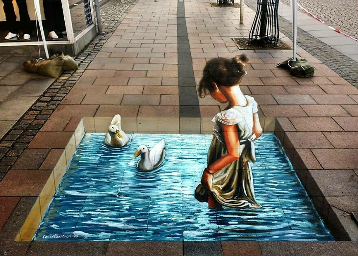 exceptional 3D paintings by Carlos Alberto GH