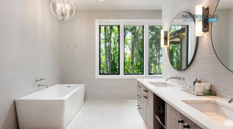 How to visually expand the Bathroom?