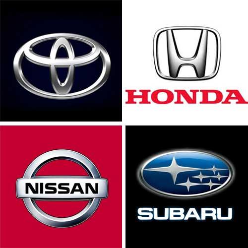 【車】国内4大ブランド
