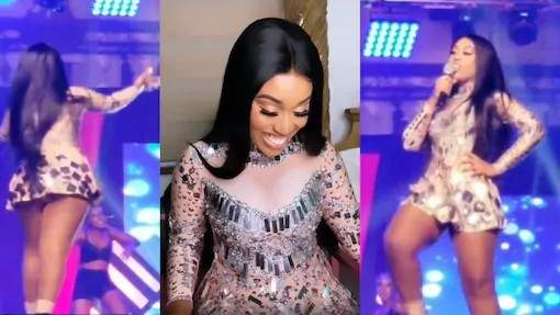 Fantana almost shows her 'Akosua Kuma' at Shatta Wale's Wonder Boy album launch