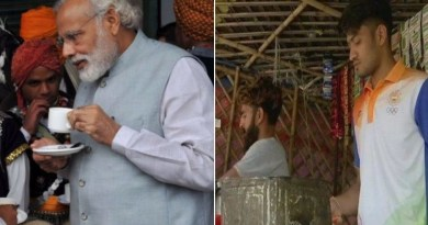 प्रधानमंत्री नरेंद्र मोदी और हरीश कुमार