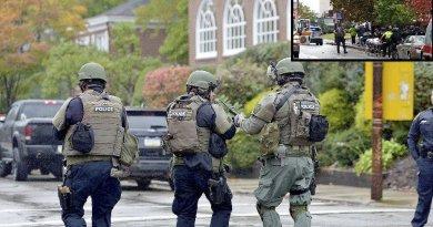 अमेरिका के पिट्सबर्ग में बंदूकधारी ने यहूदियों के प्रार्थना स्थल पर फायरिंग कर दी। जिसमें 11 लोगों की मौत हो गई।