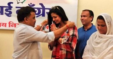 हसीन जहां कांग्रेस पार्टी में शामिल हो गई हैं। हसीन जहां ने मुंबई कांग्रेस के अध्यक्ष संजय निरुपम की मौजूदगी में पार्टी की सदस्यता ली