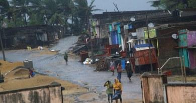 ओडिशा में तितली तूफान का तांडव