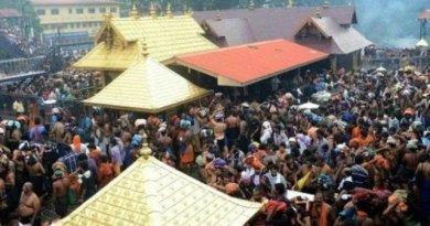 केरल का सबरीमाला मंदिर
