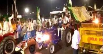 किसानों का किसानों ने आंदोलन खत्म कर दिया।