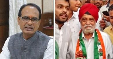 बीजेपी के वरिष्ठ नेता सरताज सिंह कांग्रेस में शामिल हुए