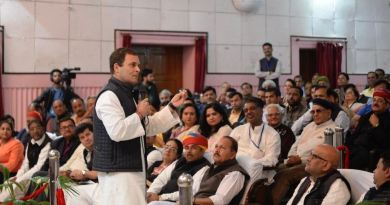 उदयपुर में एक संवाद कार्यक्रम में राहुल गांधी ने कहा ''हिंदुत्व का सार क्या है? गीता में क्या कहा गया है? इसका ज्ञान हर किसी को है, हमारे पीएम कहते हैं कि वो हिंदू हैं, लेकिन वह हिंदुत्व की नींव को नहीं समझते।