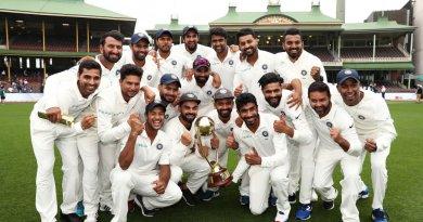 भारत और ऑस्ट्रेलिया के बीच खेली गई चार मैचों की टेस्ट सीरीज़ को भारतीय टीम ने 2-1 से अपने नाम कर इतिहास रच दिया है।