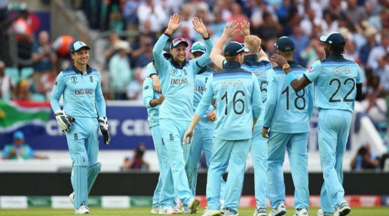 ICC 2019 क्रिकेट विश्व कप के पहले मैच में इंग्लैंड ने साउथ अफ्रीका को 104 रनों से हरा दिया है। इंग्लैंड ने पहले खेलते हुए बेन स्टोक्स (89) और इयोन मोर्गेन (57) की बदौलत 50 ओवर में 8 विकेट के नुकसान पर 311 रन बनाए थे।