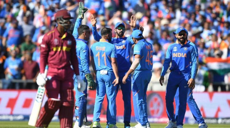 भारत ने वेस्टइंडीज को हराया