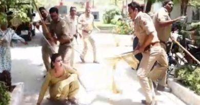 पुलिस ने कन्नरों को पीटा