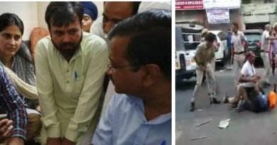 देश की राजधानी दिल्ली में ऑटो ड्राइवर की पिटाई का मामला गरमाता जा रहा है। सीएम केजरीवाल ने पीड़ित के परिवार से मुलाकात की है।