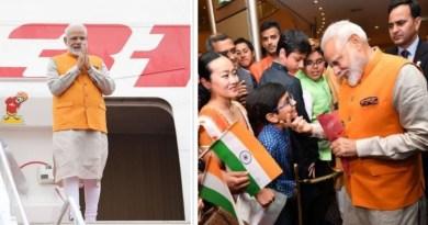 जी-20 शिखर सम्मेलन में भाग लेने के लिए प्रधानमंत्री नरेंद्र मोदी जापान पहुंच चुके हैं। ओसाका पहुंचने पर पीएम का एयरपोर्ट से लेकर होटल तक जोरदार स्वागत हुआ।