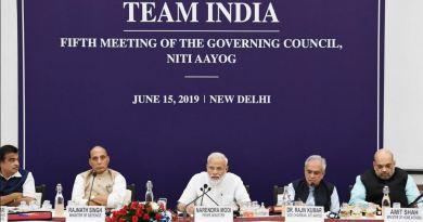 नीति आयोगी की शनिवार को हुई बैठक में प्रधानमंत्री नरेंद्र मोदी ने देश की अर्थव्यवस्था पर जोर दिया।