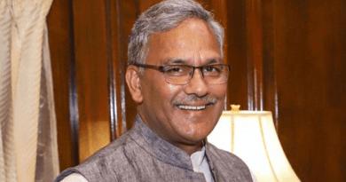 उत्तराखंड के सीएम त्रिवेंद्र सिंह रावत