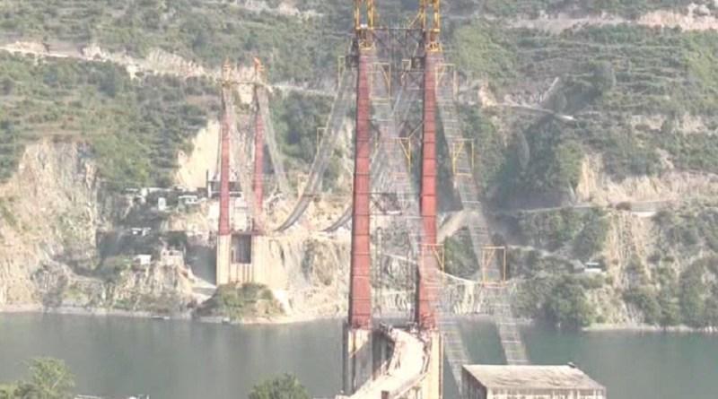 जल्द ही वाहनों के लिए खोल दिया जाएगा डोबरा-चांठी पुल