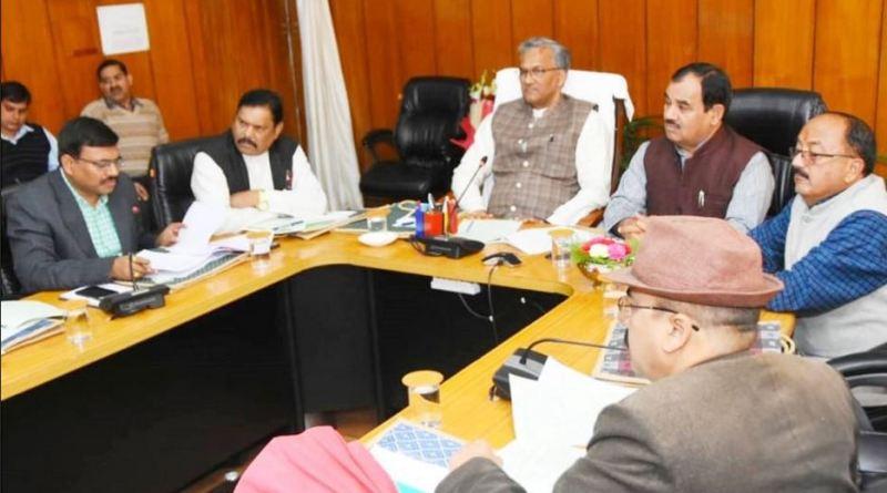 उत्तराखंड विधानसभा के बजट सत्र के दूसरे दिन प्रदेश कैबिनेट की बैठक सीएम त्रिवेंद्र सिंह रावत की अध्यक्षता में हुई। बैठक में 12 विभिन्न विषयों पर फैसले लिए गए।