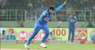 भारतीय स्पिनर कुलदीप यादव ने वेस्टइंडीज के खिलाफ खेले गए विशाखापत्तनम वनडे में इतिहास रच दिया।